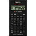BA II Plus Professional Financial Calculator - Black 1Pk BP