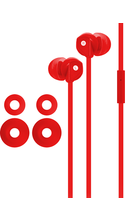 FuseBox Noise Isolating In-Ear Earbuds Red BP Cushions are S/M/L