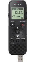 Sony Mono Digital Voice Recorder with Built-in USB Black 1Pk BP Built-in USB
