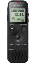 Sony Stereo Digital Voice Recorder with Built-in USB Black 1Pk BP Built-in USB