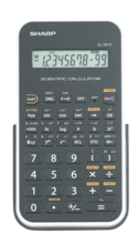 Sharp EL-501X Basic Scientific Calculator - White 1Pk BP
