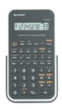 Sharp EL-501X Basic Scientific Calculator - White 1Pk BP
