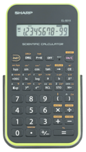 Sharp EL-501X Basic Scientific Calculator - Green 1Pk BP
