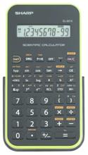 Sharp EL-501X Basic Scientific Calculator - Green 1Pk BP