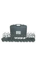 Avid Products AE-711 On-Ear Headphoens Classroom Pack & Case Black 30Pk Box AE-711