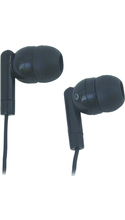 Avid Products AE-215 In-Ear Earbuds Black 3ft10in Cord Box