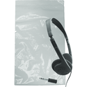 Avid Products AE-711 Headphones with Plug Adapter Black Box Includes Storage Bag