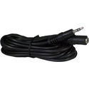Avid Products 10-foot Cord Extension, Single 3.5mm Pin Black 10ft 500Ct BP