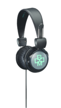 BOOM Renegade On-Ear Headphones Gray/Teal BP