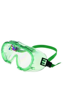 Encon Z100 Chemical Splash and Impact Protective Goggles - Clear Adjustable 1Ct Box ANSI Approved