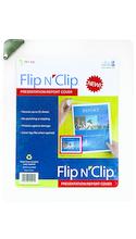 DocIt Flip n Clip Presentation/Report Cover Clear 8.5x11in Bulk 25 Pg Capacity