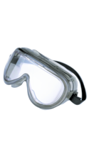 Encon 160 Series Chemical Splash and Impact Protective Goggles - Clear Adjustable 1Ct Box ANSI Approved