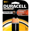 Duracell CopperTop Alkaline Batteries 9V 1Pk BP