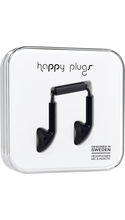Happy Plugs Earbuds with Mic Black BP
