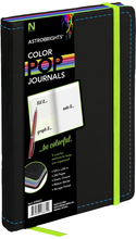 Neenah Paper ASTROBRIGHTS ColorPop Journal - Black 5x8.25in 240Sht Bulk