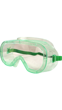 DR Instruments Economy Impact Protective Goggles - Clear Adjustable 1Pk BP ANSI Approved
