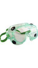 DR Instruments Chemical Splash Goggles Clear Adjustable Bulk ANSI Approved