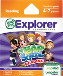 LeapFrog LeapPad Learning Game: LeapSchool Reading   4-6 Years/Skills Taught: Reading & Writing  BP