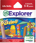 LeapFrog LeapPad Game: Scholastic Get Puzzled   5-8 Years/Skills Taught: Mathematics  BP