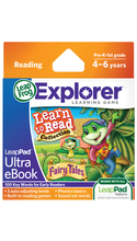 LeapFrog LeapPad Ultra eBook Learn to Read Collection: Fairy Tales   4-6 Years/Skills Taught: Reading & Writing  BP