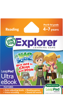 LeapFrog LeapPad Ultra eBook: LeapSchool How Not to Clean Your Room   4-7 Years/Skills Taught: Reading & Writing  BP