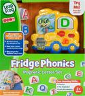 LeapFrog Fridge Phonics Magnetic Letter Set Yellow  2-5 Years  Box