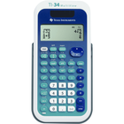 TI-34 MultiView Scientific Calculator - Blue 1Pk BP