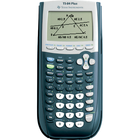 TI-84 Plus Graphing Calculator - Black 1Pk BP