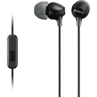 Fashion Color EX In-Ear Earbuds with Mic - Black BP