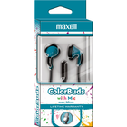 Maxell Color Buds Earbud with Mic - Blue BP