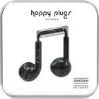 Happy Plugs Earbuds Plus with Mic - Pattern BP Black Marble