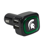 US Digital Custom Logo 4-Port USB Car Charger