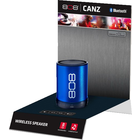 808 Audio Canz Single-Shot Active Display - 10.25x12x14.5 Inches