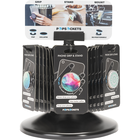 PopSockets 36 Unit Spinner Display, Header Card, and 6 Free Demo Units Black 12x10x10in 36Ct BP 6 free demo units
