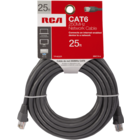CAT6 Network Cable - Gray 25 Ft Card 250MHz