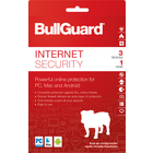 BullGuard Internet Security 2018 Commercial - Mac-Win-Android Activation Card 1 Year - 3 Devices English-French