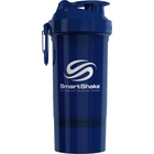 SmartShake O2GO One Shaker Bottle Navy Blue 27oz Bulk