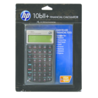 HP 10BII+ Business Calculator - Black 1Pk BP