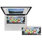 Photoshop Keyboard Cover - Black BP Fits MacBook-Air 13-Pro (2008-2015) & Wireless