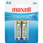 Maxell Alkaline Batteries - AA 2Pk BP
