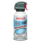 Maxell Blast Away Canned Air - Multi 3.5oz Can