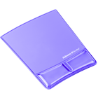 Fellowes Microban Gel Mousepad with Wrist Rest - Purple 10x6.75in BP