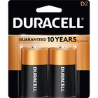 Duracell CopperTop Alkaline Batteries - D 2Pk BP
