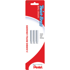Twist-Erase Mechanical Pencil Eraser Refill - White Jumbo 3Pk BP
