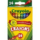 Crayola Crayons - Asst Standard 24Pk BP