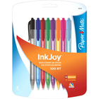Paper Mate InkJoy 100RT Retractable Ballpoint Pen - Asst 1.0mm 8Pk BP