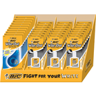 BIC Wite-Out Brand Quick-Dry Correction Fluid and EZ Correct - White Asst 30Ct Counter Display