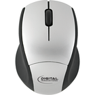 EasyGlide Wireless Travel Mouse - Silver-Black 1Pk BP