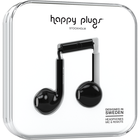 Happy Plugs Earbuds Plus with Mic - Black BP