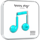 Happy Plugs Earbuds Plus with Mic - Turquoise BP